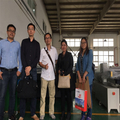 UPG and Thailand Agent Visiting Flatbed Digital Cutter Factory