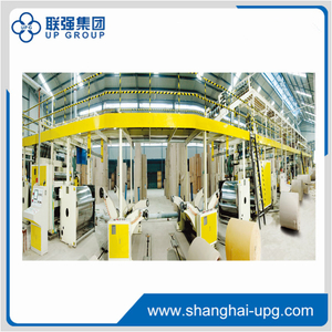 LQ 180-2200-5 Ply Corrugated Cardboard Production Line