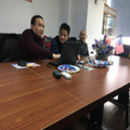 Training meeting of flexo printing machine