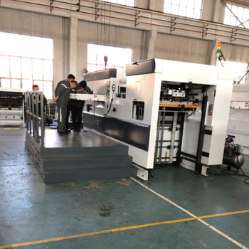 Yuyin die-cutting and stripping machine inspection