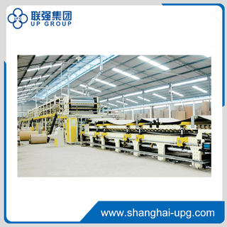 LQWJ100-2000 5 Ply Corrugated Cardboard Production Line