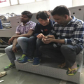 UP Group carried out a installation training of automatic paper bag making machine for the customers in India during February till March successfully