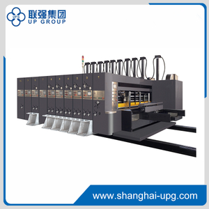 LQKM-1224 Flexo Printing Slotting Die-cutting Machine