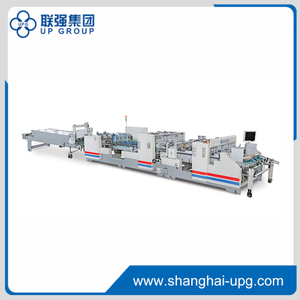 High Speed Full Automatic Folder Gluer Machine LQJY Series -LQJY1200 / LQJY1380 / LQJY1450