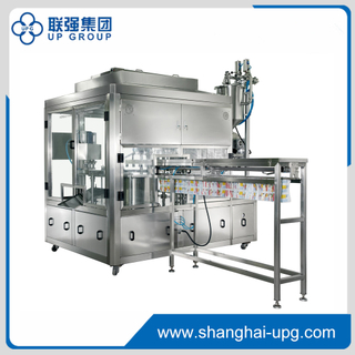 GXG-2 Automatic Filling and Capping Machine for Spout Standing Pouch