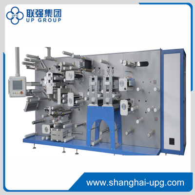 LQ-A6000W Rotary RFID Automatic Labeling Lamination Machine