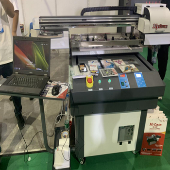 Yiwu Internationl Expo center uv plate printer inspecting