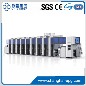 LQAY850.1050D Electrical Line Shaft Rotogravure Printing Machine