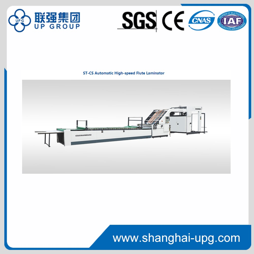 LQST-CS Automatic High-speed Flute Laminator