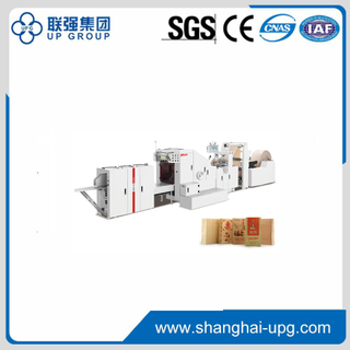 Roll Feeding Square Bottom Paper Bag Machine