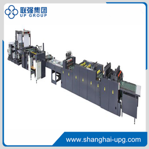 LQ-LT930S/1020S High speed intellectualized flexo wire side-stitching line