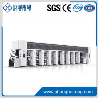High Speed Computerized Register Rotogravure Printing Machine