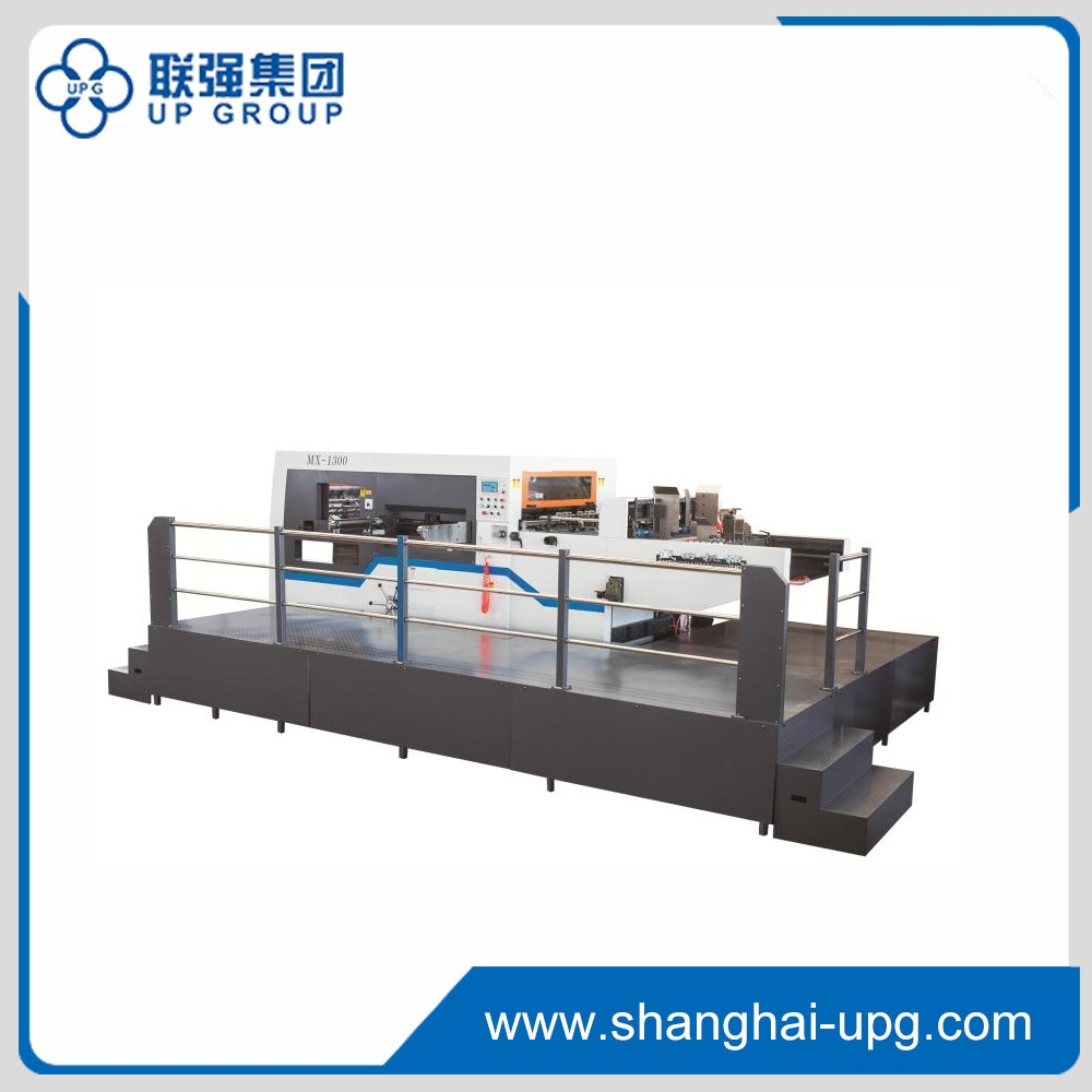 LQMX Series Intelligent Automatic Die-cutting and Creasing Machine With Stripping